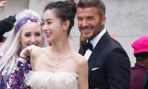 Vợ David Beckham ghen tuông khi thấy ảnh chồng chụp với AngelaBaby?