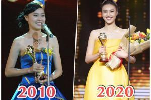 """Ninh Dương Lan Ngọc """"lột xác"""" xinh đẹp hút mắt sau 10 năm, đoạt giải Mai Vàng 2019"""